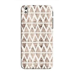 Cover It Up - Stone Triangles White Desire 816 Hard case