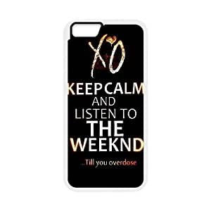 """C-EUR Customized The Weeknd XO Pattern Hard Phone Case For iPhone 6 Plus (5.5"""")"""