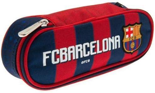 F.C. Barcelona - Estuche para lápices, diseño de LG, Color Blanco y Negro: Amazon.es: Deportes y aire libre