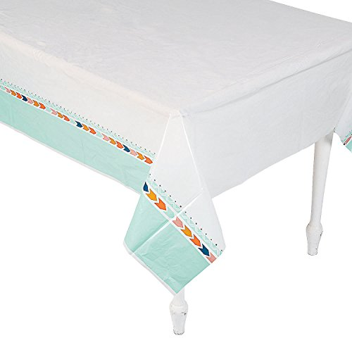 Tribal Baby Shower Plastic Tablecloth