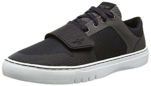 Creative Recreation Men Cesario lo Woven Fashion Sneaker Black Pewter