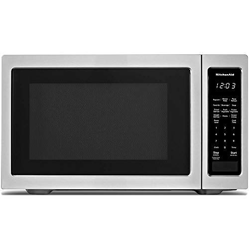 KitchenAid KMCS1016GSS 1.6 cu. ft. Countertop Microwave in Stainless Steel