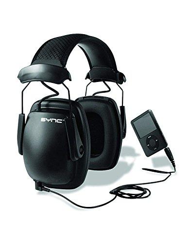 Honeywell Howard Leight 1030111 Sync Stereo Ear Defender, SNR 31 -Black