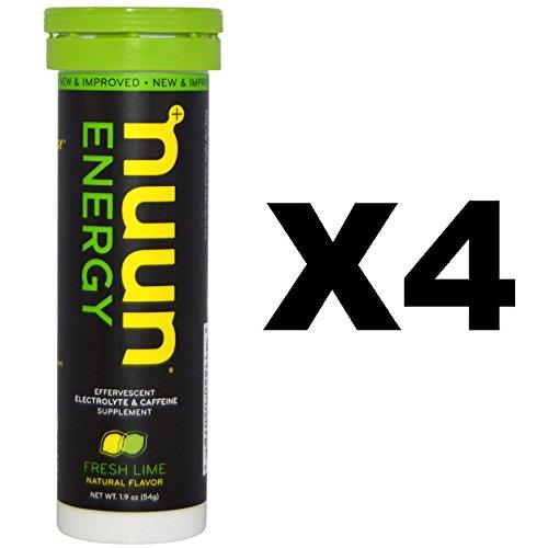 Nuun Energy Fresh Lime 4 Pack