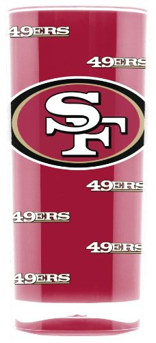 Official NFL 16oz INSULATED SQUARE TUMBLER (SAN FRANCISCO 49ERS) - Square Pittsburgh Panthers