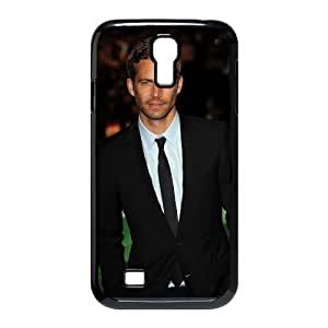 Tyquin Paul Walker Samsung Galaxy S4 Cases Paul Walker Wear a Suit for Women, Phone Case for Samsung Galaxy S4 M919, [Black]