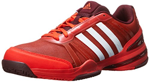 adidas Performance Herren CC Rally Comp Tennisschuh Fett Orange / Weiß / Kastanienbraun