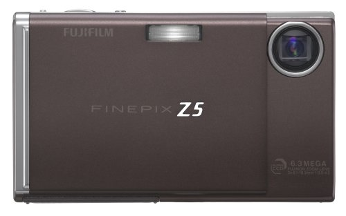 Fujifilm Finepix Ac Adapter (Fujifilm Finepix Z5fd 6.3MP Digital Camera with 3x Optical Zoom (Chocolate Brown))
