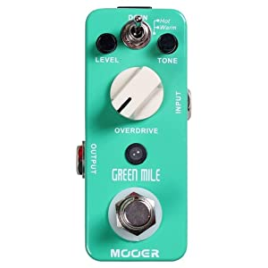 Mooer Baby Tuner Pedale Accordatore Cromatico – Green Mile Overdrive