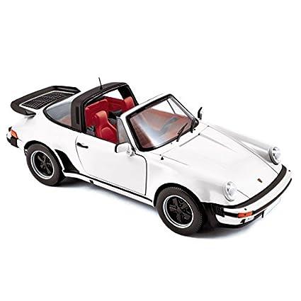 Porsche 911 Turbo Targa 3.3, white, 1987, Model Car, Ready-made