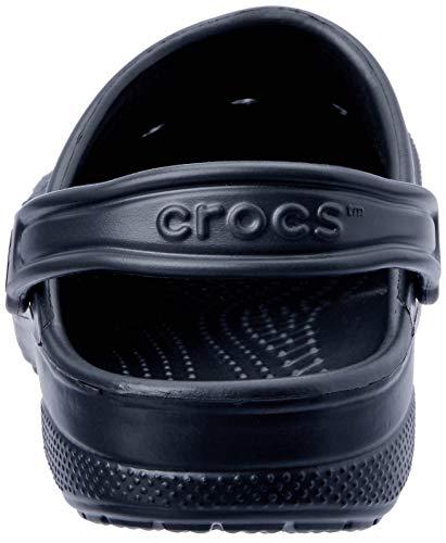 sandales Tongs Baya Noir Crocs Tongs Crocs xPUggv