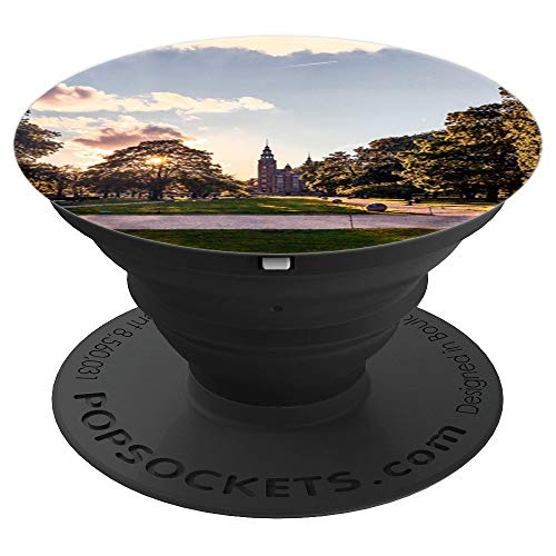 Sunset Next to the Rosenborg Castle in Copenhagen Denmark - PopSockets Grip and Stand for Phones and Tablets