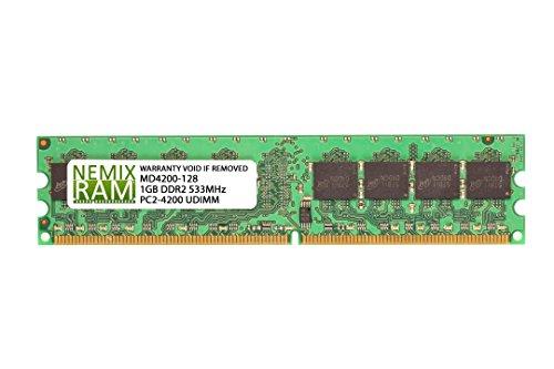 1GB DDR2 533MHz PC2-4200 240-pin Memory RAM DIMM for Desktop PC -