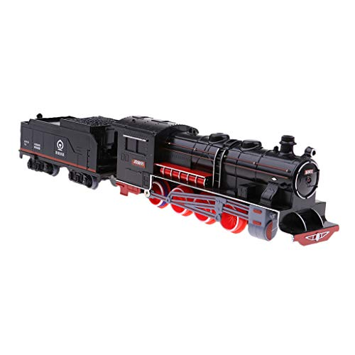 B Baosity レトロ 子供 車おもちゃ 蒸気機関車モデル 列車モデル