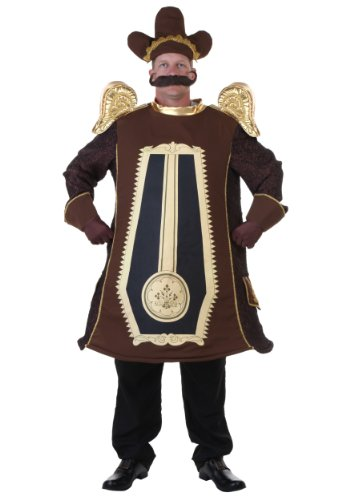(Adult Clock Costume Standard)