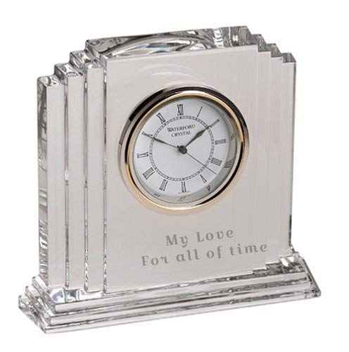 Waterford Personalized Metropolitan 6 Clock