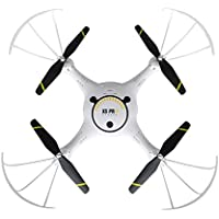 Owill X5UV Wifi RC Quadcopter Drone 2.4GHz 4CH 4-Axis Gyro 2MP Camera Altitude Hold Helicopter (White)