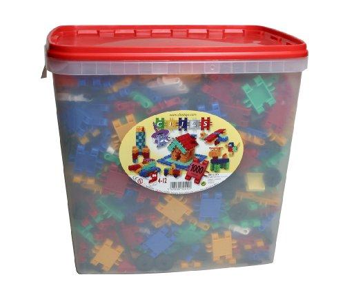 Clics Bucket 1000 Pieces by Clics