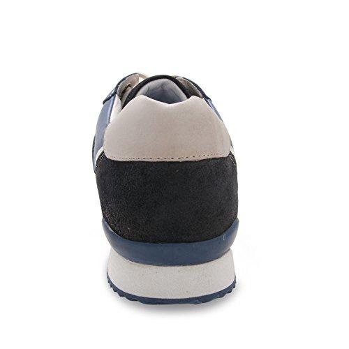 Comfort Pelle Taglia Uomo 44 Scarpe In Calzature Zerimar Il Colore Blu Per nawp7zCAx