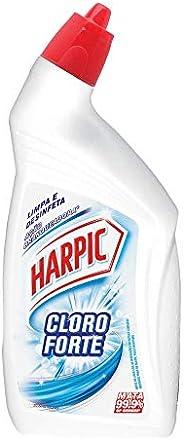 Limpador Sanitário Desinfetante Líquido Cloroforte 500 ml, Harpic
