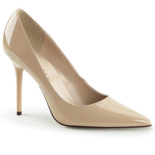 Pleaser Classique-20 sexy spitze 10cm zapatos de tacón alto mujer - tamaño 35-48