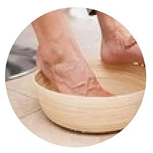 alfombrilla de ratón pies del cliente pedicurist de limpieza - ronda - 20cm