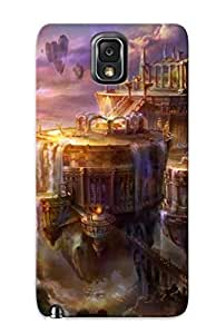 Crazinesswith Snap On Hard Case Cover Floating City Protector For Galaxy Note 3