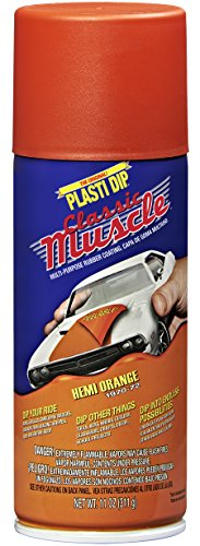 Performix 11310-6 Hemi Orange Classic Muscle Car Rubber Coating, 11 oz, 6 Pack by Plasti Dip