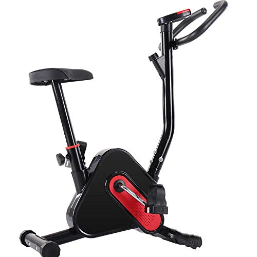 Indoor Cycle Oefening Stationaire fiets met LCD-monitor Cardio Fitness Gym Fietsen Machine Workout Training 265LB Max…