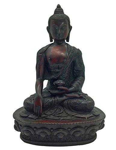 red resin buddha - 7