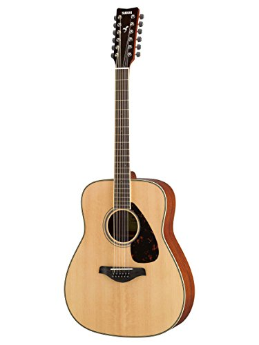 Yamaha FG820 12-String Solid Top Acoustic Guitar (Martin 12 String Acoustic Guitar)