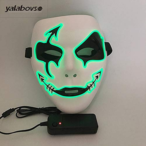 Genric yalaobovso 2017 Newest PVC EL Wired mask