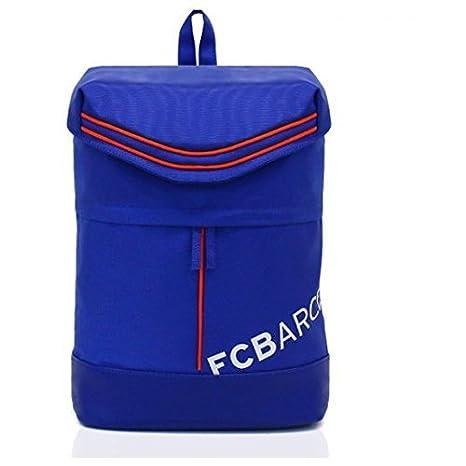FC Barcelona Mochila fcb-bp5s01 azul mochila escolar Primier Ligue emblema bolsas para nueva escuela semestre: Amazon.es: Electrónica
