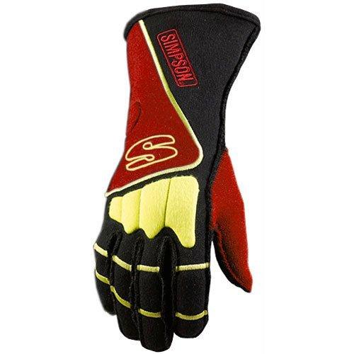 Simpson DGSR DNA Glove Small Blk//Red