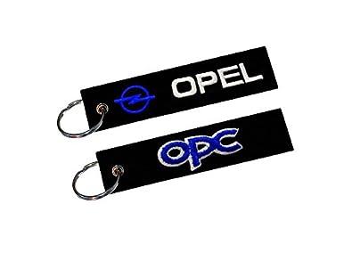 Amazon.com: Opel OPC llavero de doble cara: Shoes