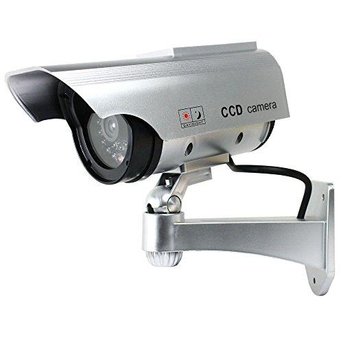 Solar Power Dummy Fake Imitation Home CCTV Security Surveillance Camera - 7