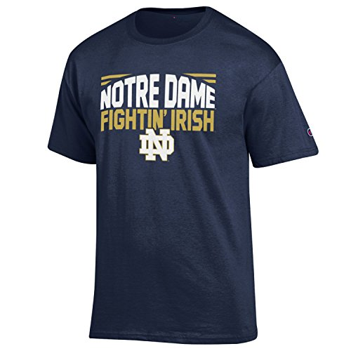 NCAA Champion Men's Push Ahead Short sleeve T-Shirt Notre Dame Fighting Irish X-Large