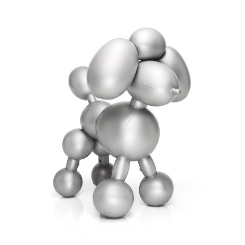 Fatboy Inflatable Poodle Dolly Decor, Silver