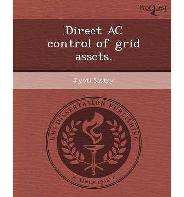 Download Direct AC Control of Grid Assets. (Paperback) - Common ebook