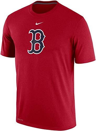 Red Sox Shirt Boston - Nike Mens Red Boston Sox Legend Batting Practice Logo Performance T-Shirt