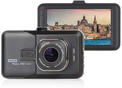 フルHD 1080 PDashカム、車用3インチDashcams、WDRの24H駐車場モニター、Gセンサーとループ・レコーディング