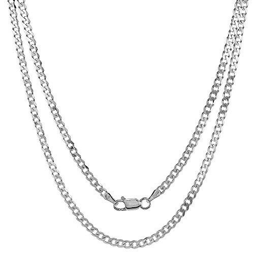 Sterling Silver Necklaces Bracelets Beveled