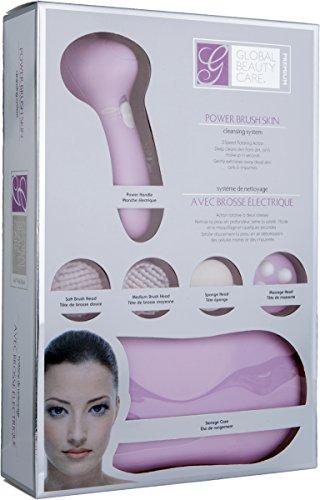 Beauté globale soins Premium Power brosse nettoyante pour la peau système (rose)
