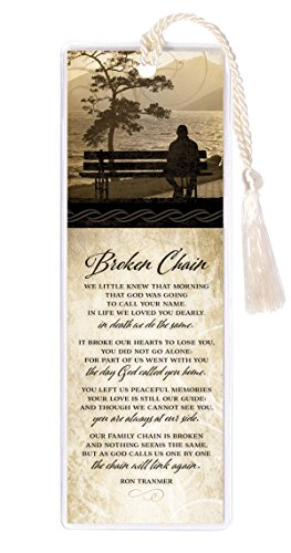 James Lawrence Bookmark-Silhouette-Broken Chain