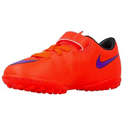 Nike - JR Mercurial Victory V - Couleur: Orange-Violet - Pointure: 27.5