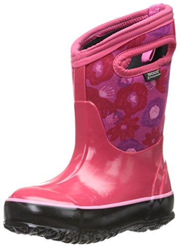 Bogs Classic Watercolor Waterproof Insulated Rain Boot , Mag