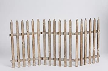 Deko Zaun Holz Zaun Jager Zaun 3 Zaunelemente A 40 Cm Zum Klappen 60