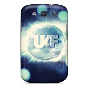 New Spigencases Super Strong Skrillex Ukf By Clearbluewater Shadowness Tpu Case Cover For Galaxy S3