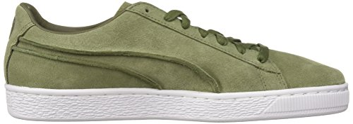11 Suede Capulet Exposed US Men's M Classic Sneaker Olive PUMA Seams w6qB8xxY