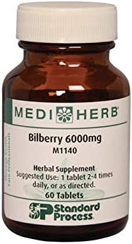 MEDIHERB Bilberry 6000mg Medi Herb